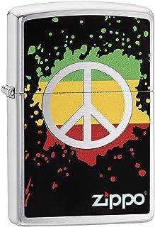Zippo Peace Sign Lighters