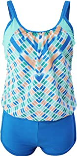 Yntmerry Swimsuits Tankini Strapless Adjustable Straps Gathered Swimsuit Split Swimwear Bikini 41990