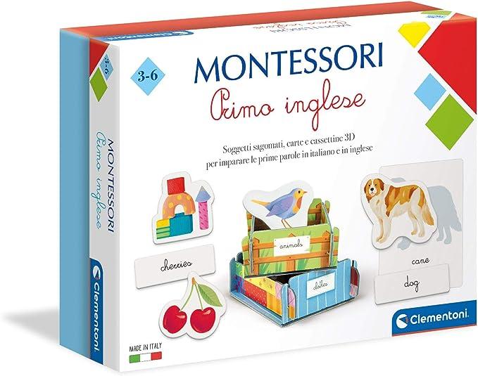 102 opinioni per Clementoni 16322, Montessori, Primo Inglese, Made in Italy, 3 anni, Gioco