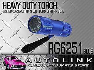 Motolite RG6251 9LED Alluminium Body Torch PC POS Display 16pc