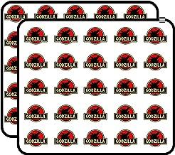 Godzilla Jurassic Park Sticker for Scrapbooking, Calendars, Arts, Kids DIY Crafts, Album, Bullet Journals 50 Pack