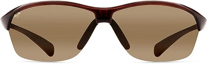 Maui Jim Sunglasses | Hot Sands 426 | Rimless Frame, Polarized Lenses, with Patented PolarizedPlus2 Lens Technology