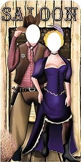 Star Cutouts SC171 Wild West Couple Life-size Cardboard Cutout