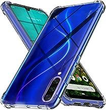 Ferilinso Cover per Xiaomi Mi A3 Cover, [Rinforzare la Versione con Quattro Angoli] [Protezione per la Fotocamera] Custodia Protettiva in Silicone Morbido Antiurto in Gomma TPU (Trasparente)