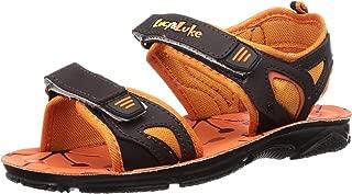 Lucy & Luke by Liberty Boy's Darrell-1 Orange Outdoor Sandals-2 UK (34 EU) (3 US) (2156028122)