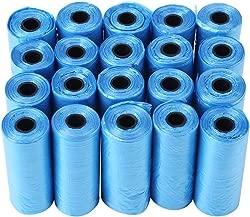 yuyte 20 Rolls Dog Poo Bag Trash Garbage Bags Cat Pets Waste Collection Bag(Blue)