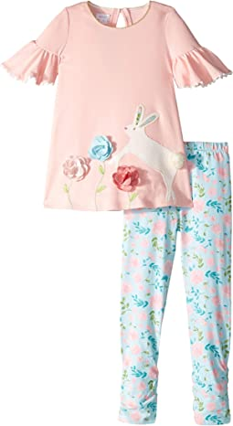 Bunny Tunic and Leggings Set (Infant/Toddler)