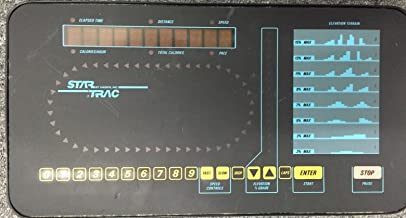 Star Trac Upper Display Console Panel Treadmill 3000 Works by Universal