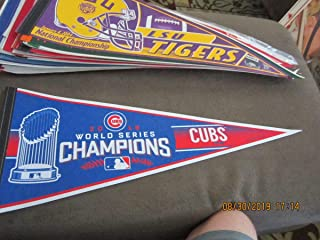 2016 Chicago Cubs World Series Champions pennant em