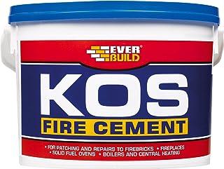 Everbuild KOS Fire Cement, Buff, 6 kg