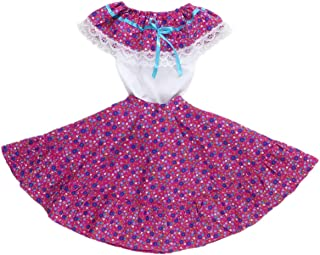Mexican Clothing Co Little Girls Mexican Adelita Costume Blouse n Skirt Poplin