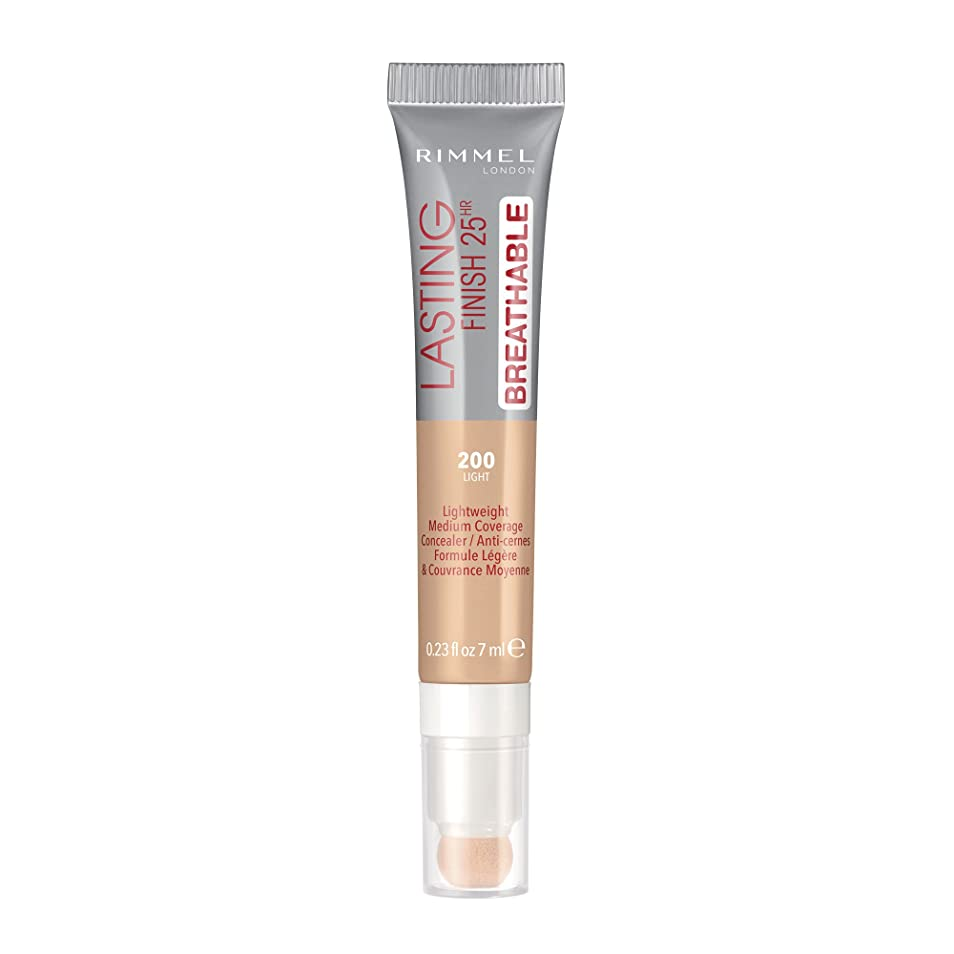 円形注ぎます部門RIMMEL LONDON Lasting Finish Breathable Concealer - Light (並行輸入品)
