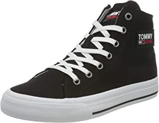 Women's Sneaker Midcut Vulc, Black, 7.5