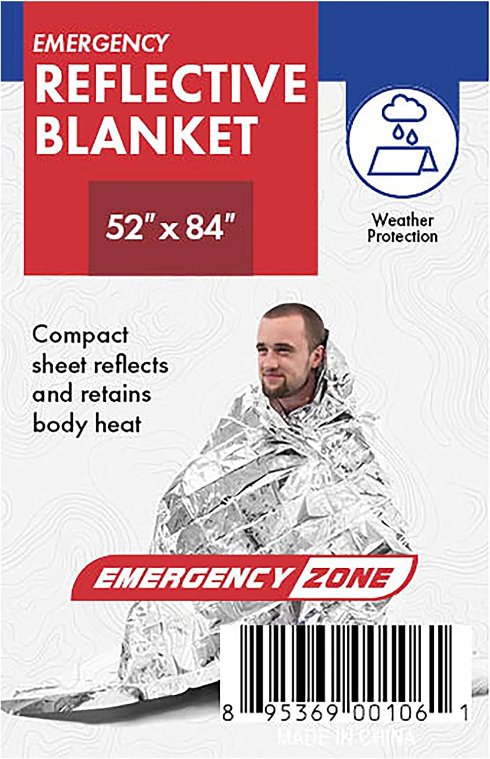 2021 spring and Fixed price for sale summer new Emergency Zone Thermal Reflective Pack 1 Blanket.