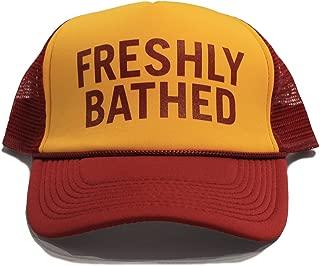 Funny Trucker Cap BALLS hat FRESHLY BATHED hat NOT A HAT hat 30 Rock show Frank Rossitano Judah Friedlander Hat