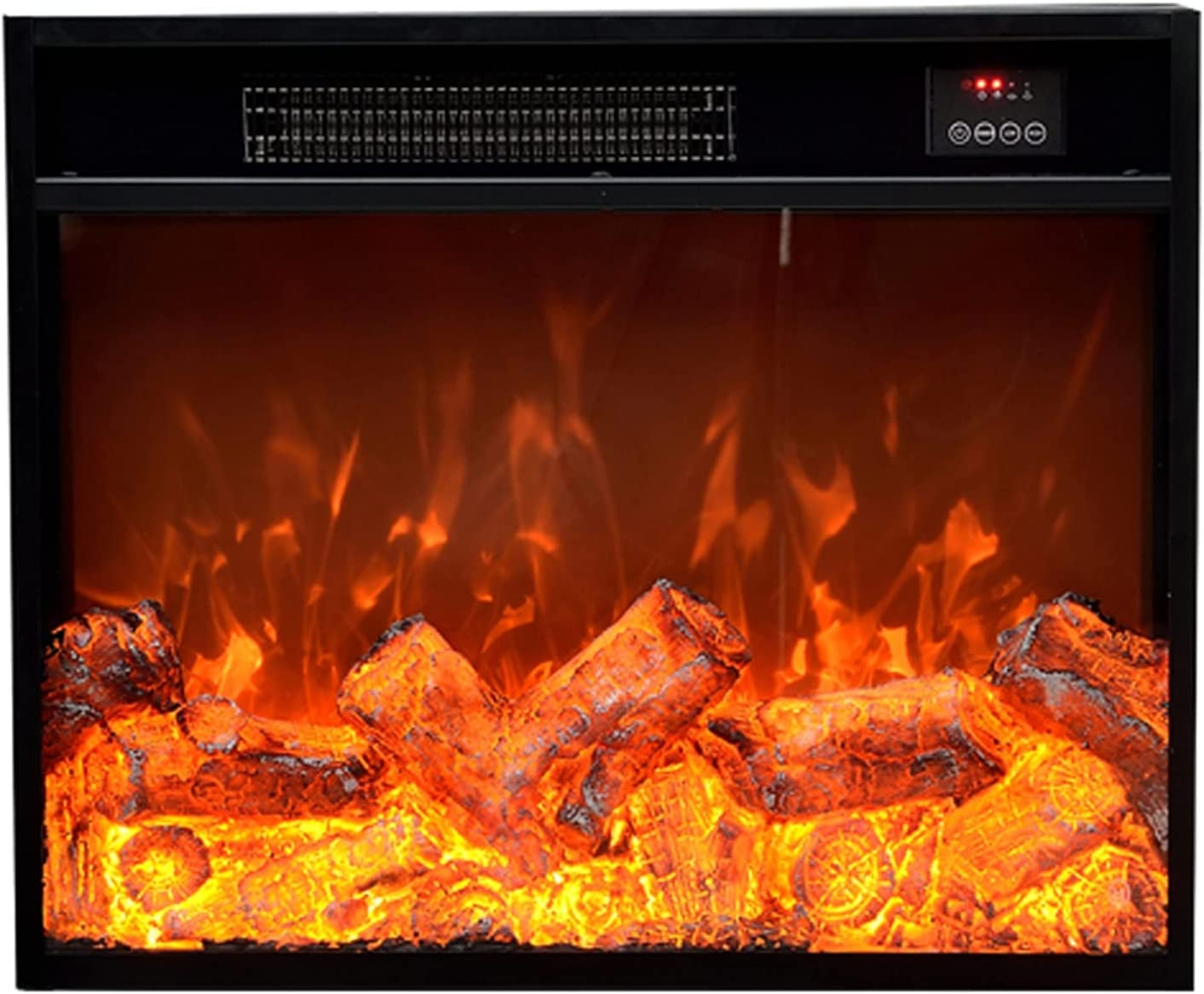 YZERTLH Electric Fireplace Brand new Superlatite Dual Recessed Cont