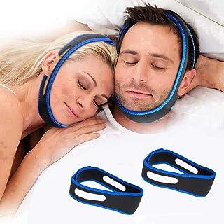 Anti Snoring Chin Strap,Snoring Solution Anti Snoring Devices Effective Stop Snoring Chin Strap for Men Women Adjustable S...