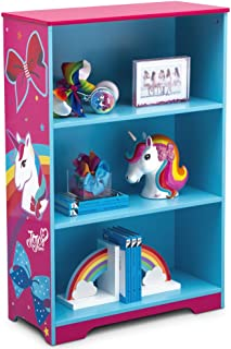 Delta Children Deluxe 3-Shelf Bookcase - Ideal for Books, Decor, Homeschooling & More, JoJo Siwa