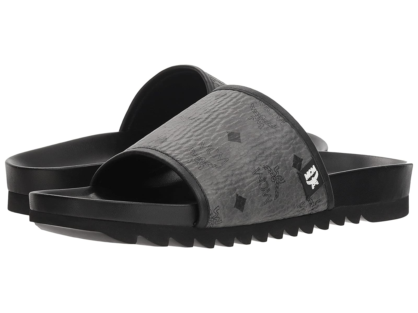MCM Visetos Slide SandalAtmospheric grades have affordable shoes