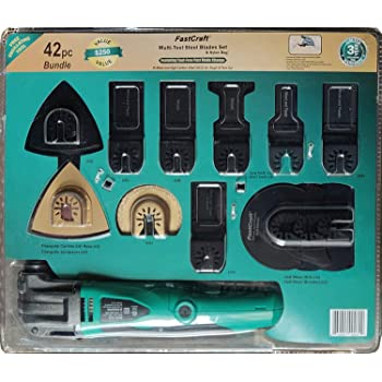 15 Piece Oscillating Multi-Tool Bundle Imperial Blades Contractor Pack