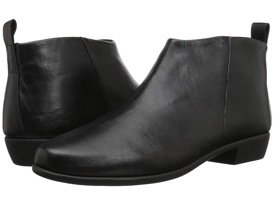 Aerosoles Step It Up (Black Leather) Women