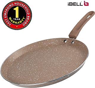 IBELL Induction Base Aluminium Tawa, 280 mm