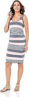 Ripe Maternity Women's Stripe Nursing Dress