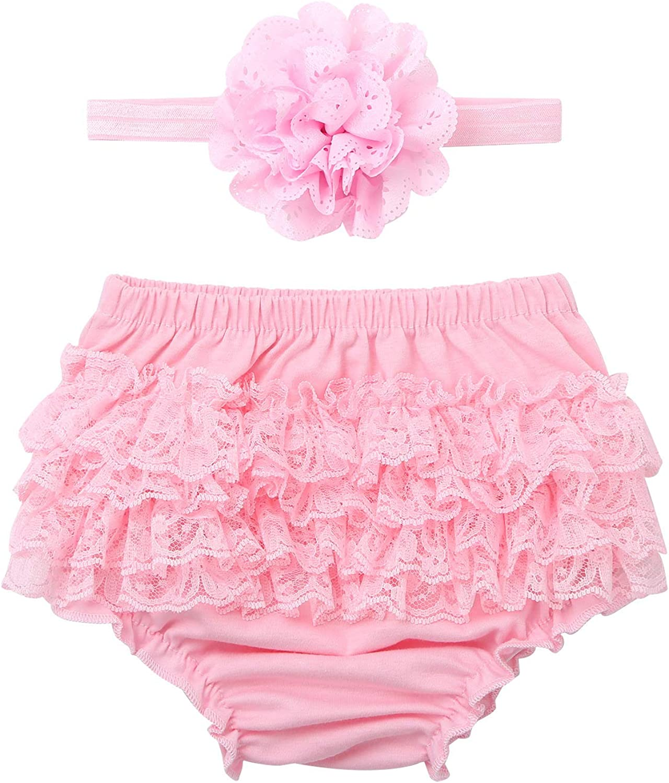 ranrann Baby Houston Mall Girl Ruffled Cotton Smas Bloomers Diaper Las Vegas Mall Cake Cover