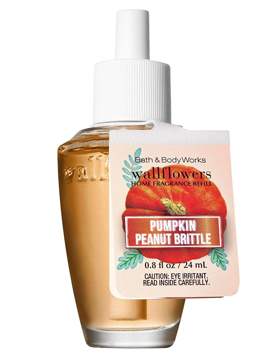 発生する服を片付ける解釈する【Bath&Body Works/バス&ボディワークス】 ルームフレグランス 詰替えリフィル パンプキンピーナッツブリトル Wallflowers Home Fragrance Refill Pumpkin Peanut Brittle [並行輸入品]