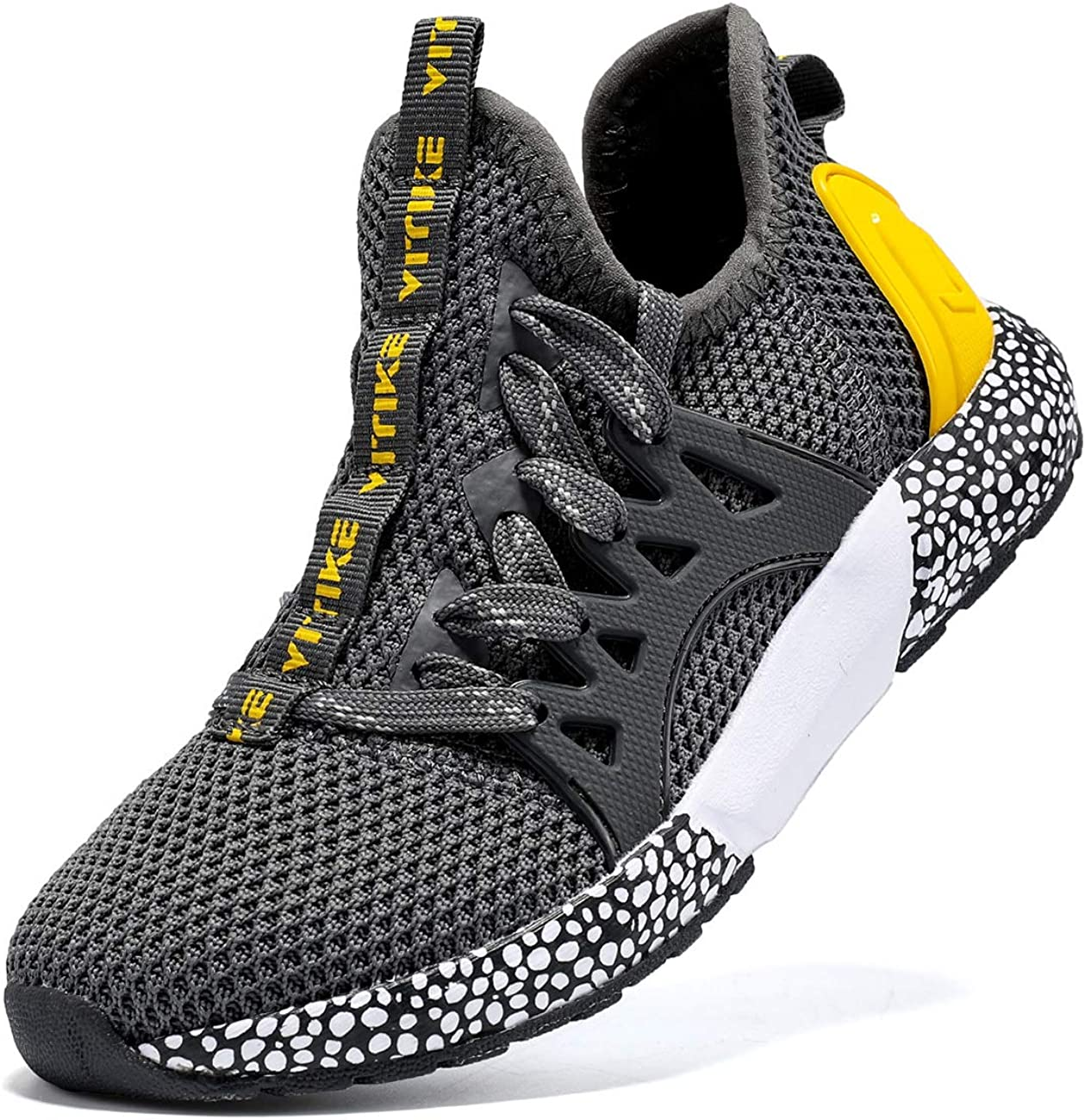 VITUOFLY Boys Sneakers Kids Running Shoes Girls Mesh Fitness Shoe Indoor Training Sneaker Lightweight Outdoor Sports Athletic Tennis Shoes for Little Kid/Big Kid