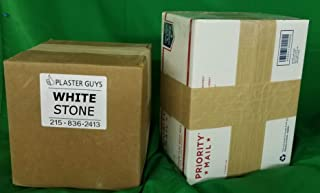 White Dental Lab Stone, Type III 25 lb - Model Stone for Dental Laboratory and Dental Office from Manufacturer, Made in The USA