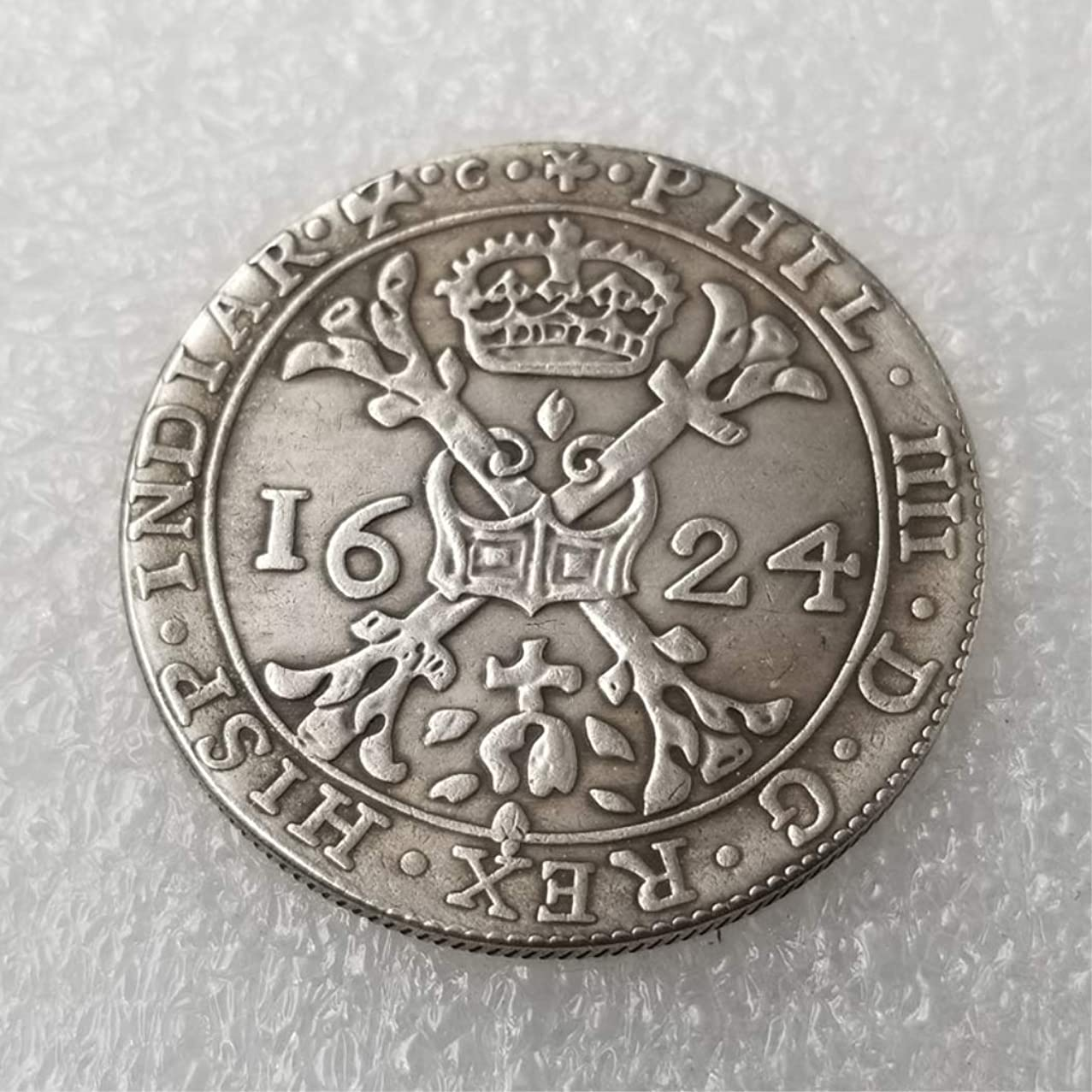 MarshLing 1624 Netherlands Old Coin- Netherlands Commemorative Coin -Old Uncirculated Coin-Great Old Netherlands Coins - Discover History of Coins Perfect Quality
