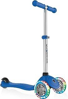 comprar comparacion Globber Primo Infantil con luz Up Ruedas Scooter, Infantil, Primo with Light Up Wheels, Azul Marino, n/a