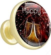 4 Pack Meubels Garderobe Knoppen Gouden Champagne Lade Trekt Metalen Champagne Badkamer Knoppen Versier Keuken Badkamer Ke...