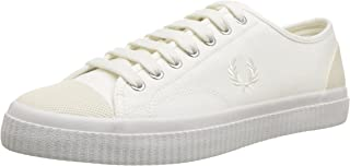 Fred Perry Womens Unisex-Adult Mens B3280 Hughes Canvas White Size: