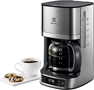 Electrolux Kaffebryggare Serie 7000, Modell EKF7700, Kaffemaskin med Timer, Automatisk Avstängning, 1080 W, Glaskanna till...