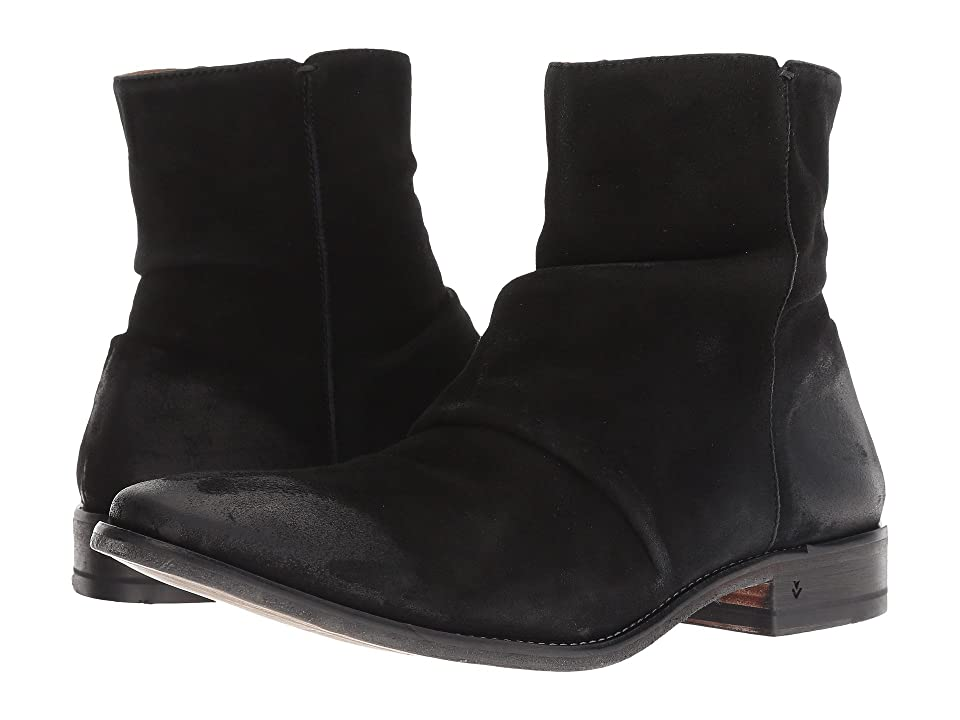 John Varvatos Collection Morrison Sharpei Boot (Black 1) Men