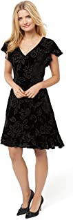 Review Women's Evening Rose Dress Black