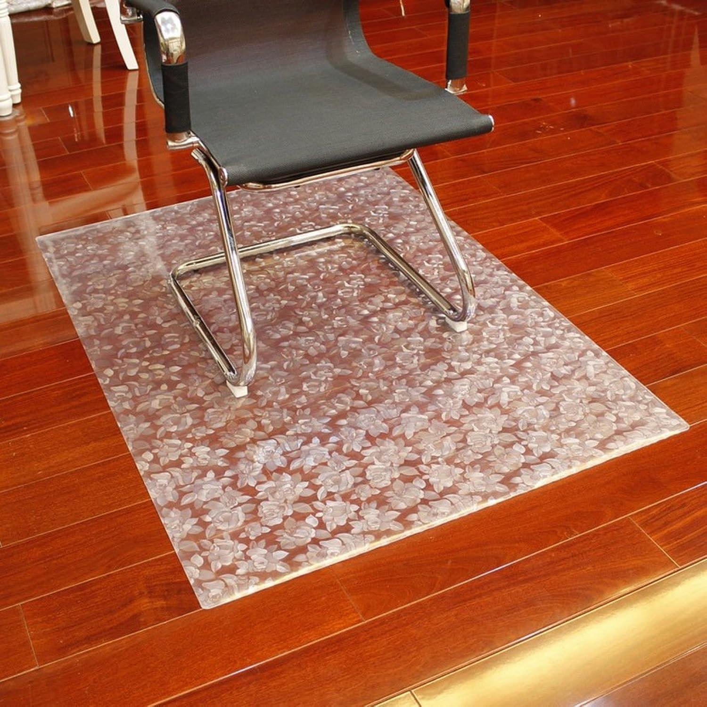 Computer Chair mat Soft Glass Predector mat Computer Chair Predector mat Cushions Book Table and Chair mat-I 90x90cm(35x35inch)