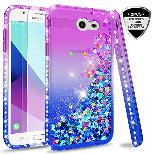 wholesale dealer 5f8ce d7ec7 Samsung Galaxy J3 Blue and Purple Cases: Amazon.com