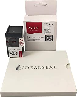 Preferred Postage Supplies Compatible 793-5 Red Ink Cartridge for DM Series,Send Pro C Series + 50 Pinwheel Postage Meter Tape 5 1/4 x 5 1/4 Compare to Pitney Bowes 612-0, 612-7, 612-9 & 620-9