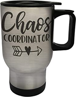 Chaos Coordinator Stainless Steel Thermo Travel Mug 14oz gg191ts