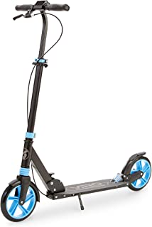 VIRO Rides Sport Runner Folding Kick Scooter Black/Blue - Amazon Exclusive