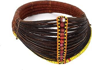 Samburu or Rendile Beaded Necklace Collar Kenya African Art