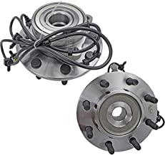 Bodeman - Pair 2 Front Wheel Hub and Bearing Assembly for 2000 2001 2002 Dodge RAM 2500 RAM 3500-4 WHEEL ABS Models & 4x4