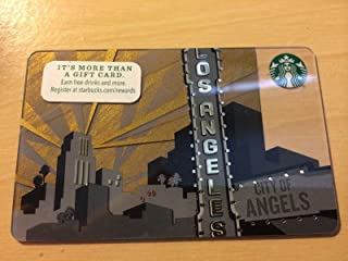 NEW Starbucks LOS Angeles 2014 Gift Card Collectible