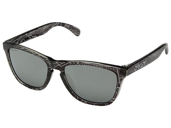 Oakley Frogskins Urban Commuter IML (A) (NYC Black w/ Prizm Black) Athletic Performance Sport Sunglasses