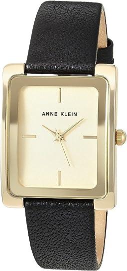 fa67e71da9 Ak anne klein 10 7908 brown strap with silver dial