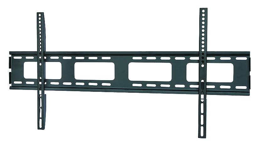 ディーラー組み合わせるミント壁掛けテレビ 金具 STARPLATINUM 強度抜群 46-65インチ対応 液晶テレビ壁掛け金具 薄さ2.2cm 安定感抜群 TVセッタースリム1 Lサイズワイド ブラック 【液晶テレビ壁掛け】