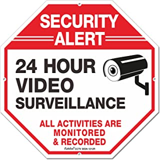 Outdoor Video Surveillance Sign -12